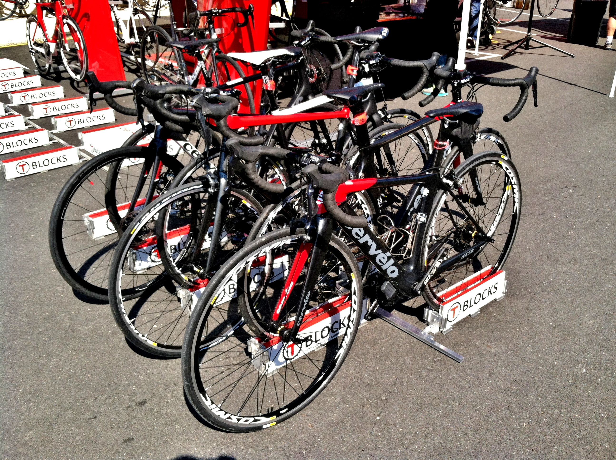 T-BLOCKS Triathlon Transition Racks